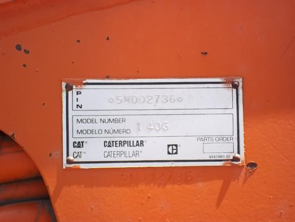 Cat 140G 5MD02736