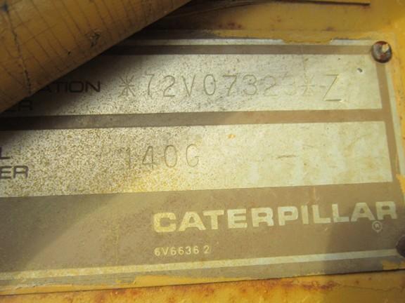 Cat 140G 072V07323