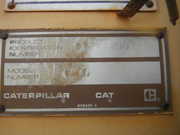 Cat 140G 072V12067
