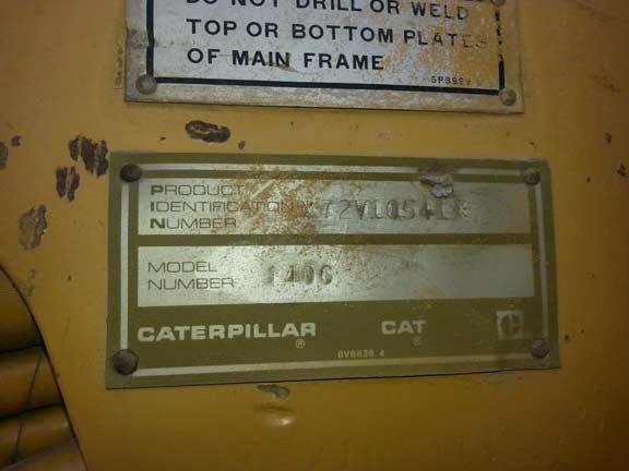 Cat 140G 72V10541