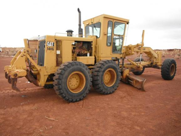 Cat 140G 72V13014