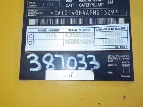 Cat 140H APM01329