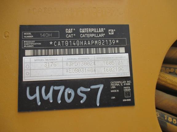 Caterpillar 140H APM02139