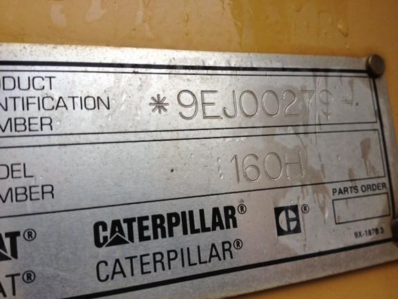 Cat 160H 9EJ00279