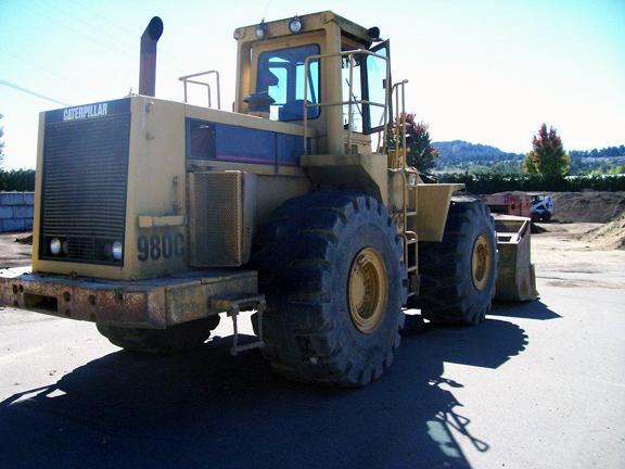 Cat 980C 63X01187