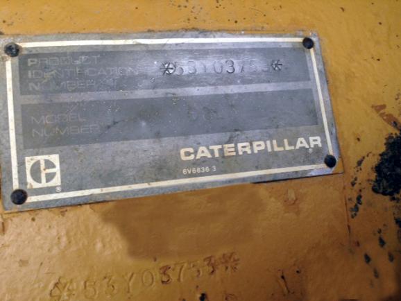 Caterpillar D8L 53Y03753