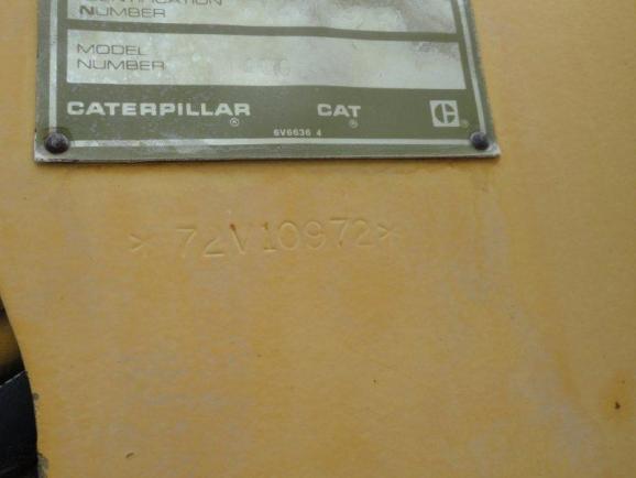 Cat 140G 072V07696