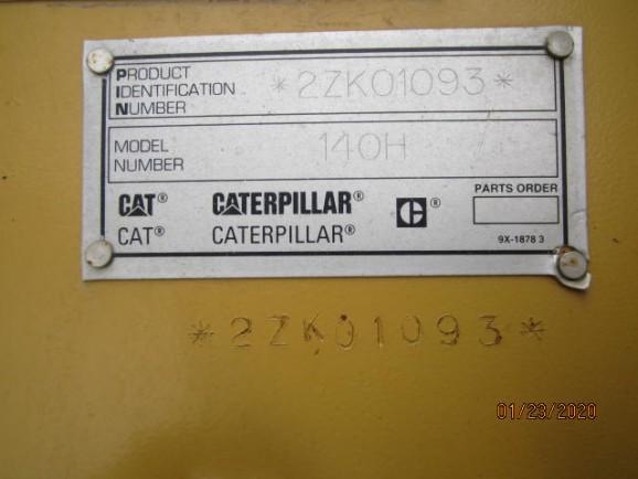 Caterpillar 140H 2ZK01093