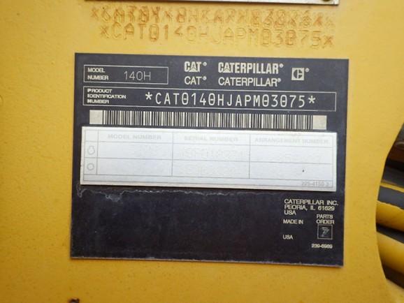 Caterpillar 140H-VHP APM03075