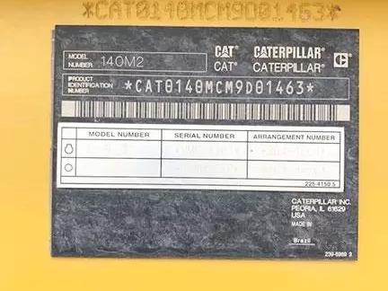 Caterpillar 140M2 M9D01463