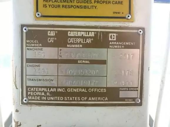 Caterpillar 16G 093U03157