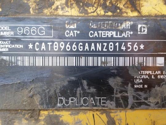 Caterpillar 966-GII AANZ01456