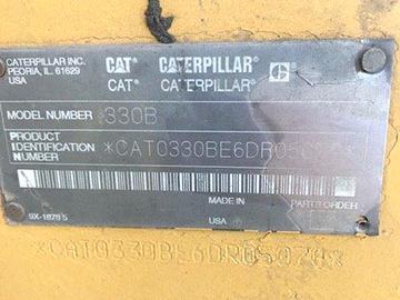 CAT 330BL 06DR05078