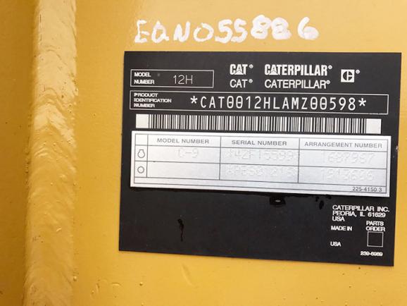 CAT 12H AMZ00598