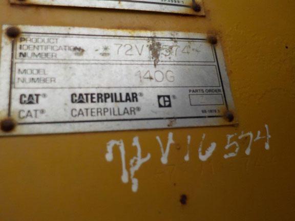 Cat 140G 72V16574