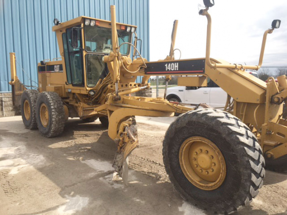 Caterpillar 140h 02ZK04463