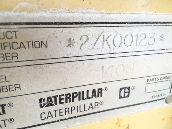 Caterpillar 140H 2ZK00123