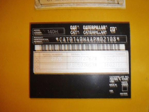 Caterpillar 140H APM02108