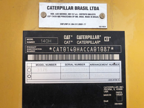 Caterpillar 140H CCA01087