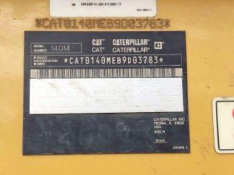 Caterpillar 140M B9D03738