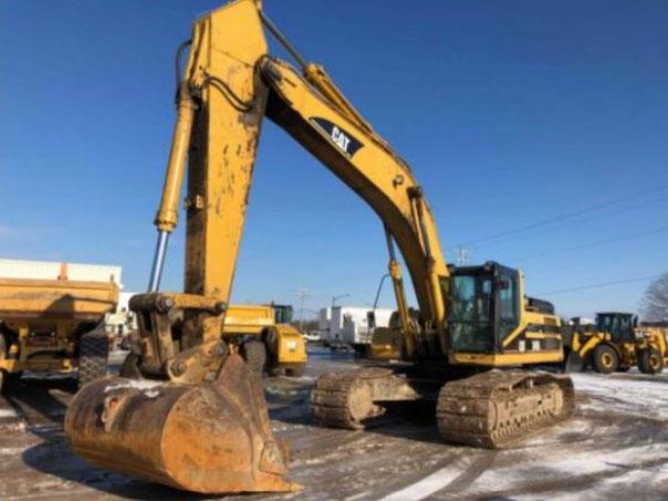 Caterpillar 345BIIL Track Excavators For Sale in Wisconsin, USA